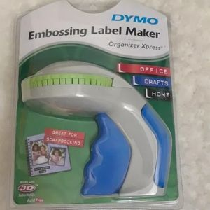 TAKE 1/2 OFF DYMO Embossing Handheld Label Maker